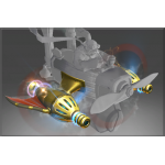 Golden Atomic Ray Thrusters (Inscribed)
