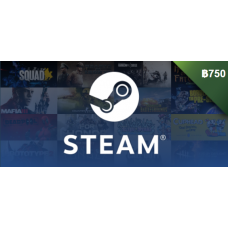 Steam Wallet ฿750